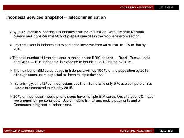 indonesia telecommunication outlook Looking at telecom industry trends by 2020 and beyond for last 20 years, continuous technical transformation and information waves have driven high growth in the telecom industry.