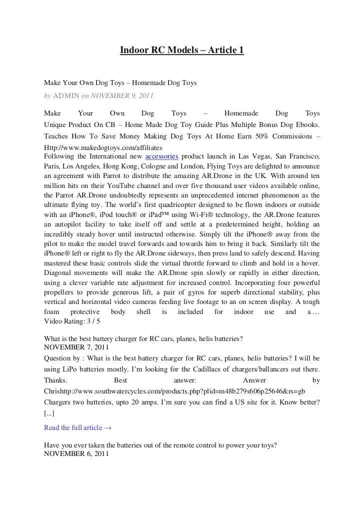 Indoor rc models   article 1