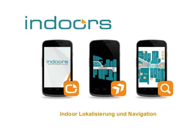 Indoor Lokalisierung und Navigation 1