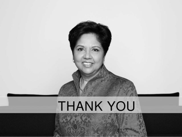 leadership style of indra nooyi Is gatorade a coke brand or a pepsi product which company has a stake in  both heinz ketchup and fruit of the loom match iconic brands.