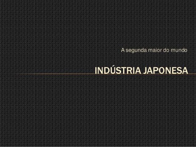 Indústria japonesa