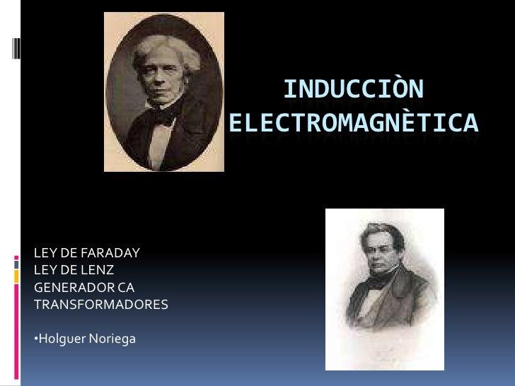 InduccióN ElectromagnèTica