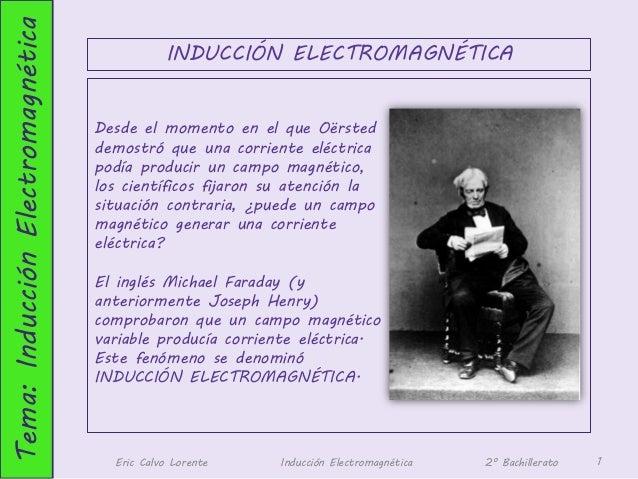 Tema: Inducción Electromagnética                                              INDUCCIÓN ELECTROMAGNÉTICA                  ...