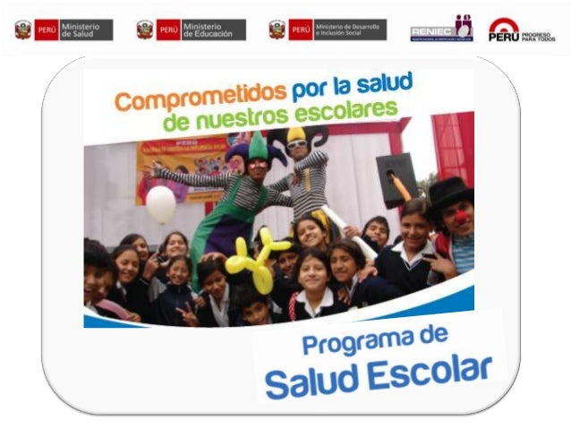 Induccion a Programa Salud Escolar - Red SJL