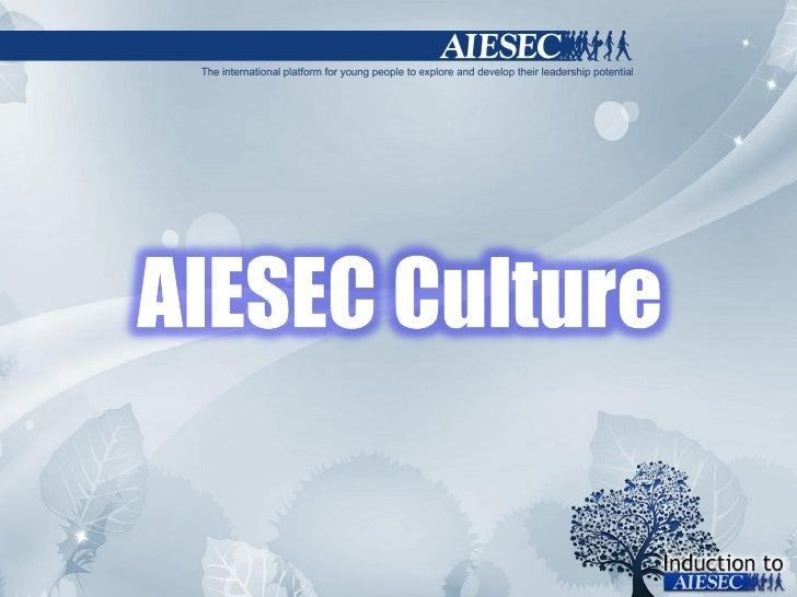 [Inducion] sessão 9   aiesec culture