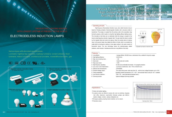 Induction lamp cata 2010