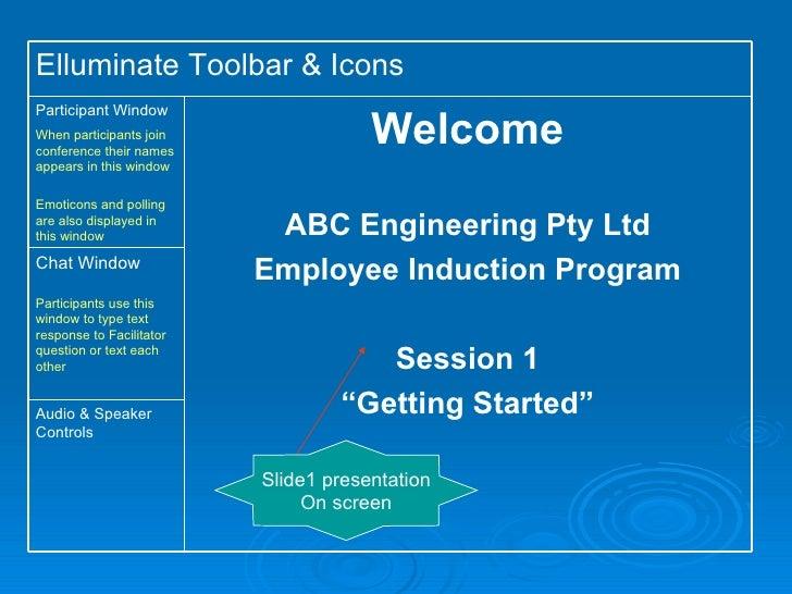 Induction program e learning design - c. cummins