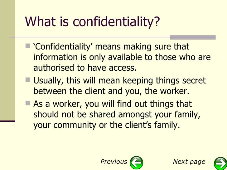essay confidentiality counseling