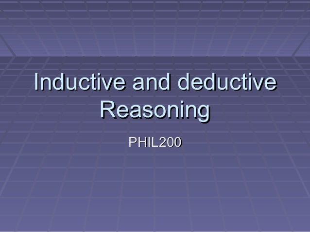 Inductive or deductive research