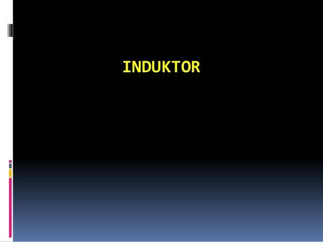 Induktor