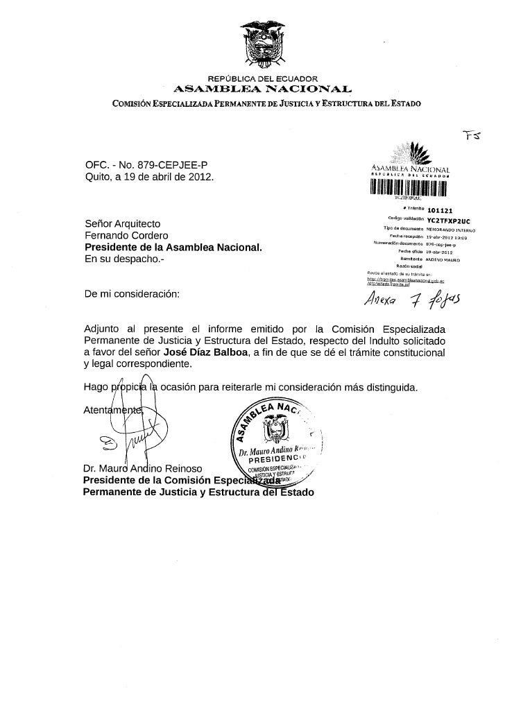 Informe solicitud de Indulto  José Díaz Balboa_24_04_2012