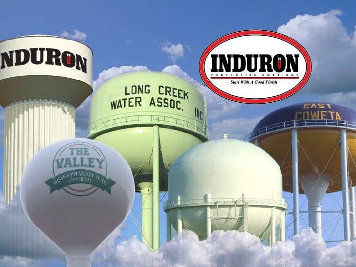 Induron Protective Coatings Water Tank Presentation