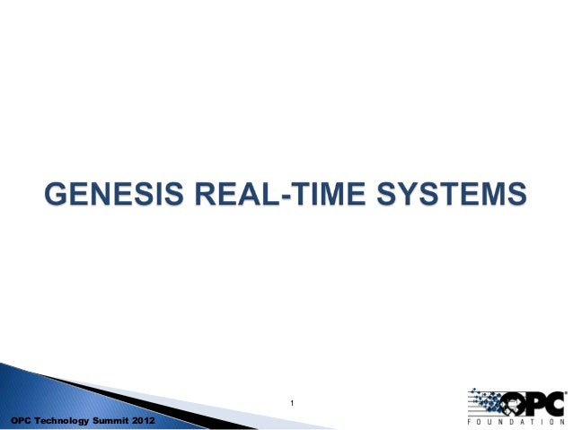 InduSoft OPC UA Webinar with Genesis RTS