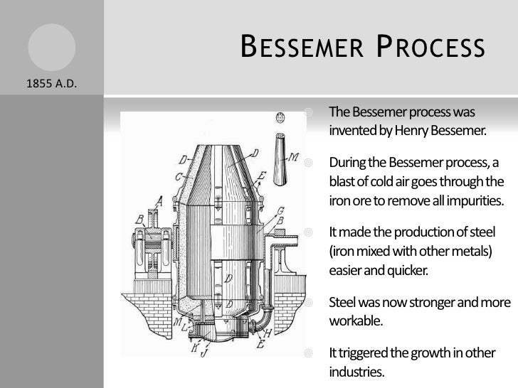 Did the bessemer process put people out of work?