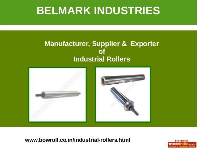 Industrial Rollers Exporter,Manufacturer,Ahmedabad