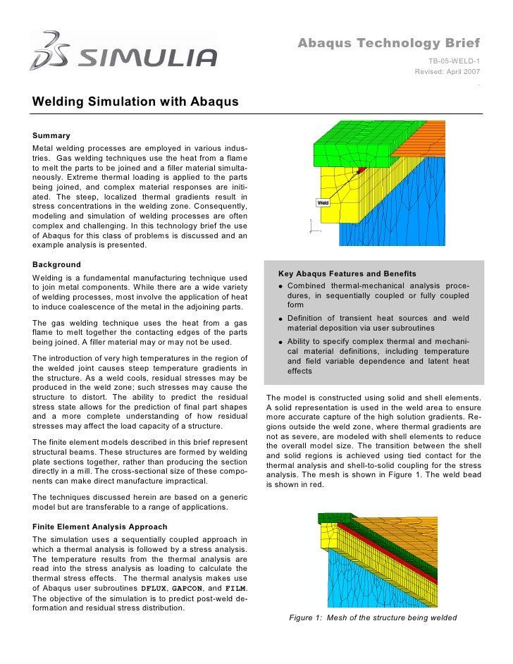 Abaqus Technology Brief                                                                                                   ...