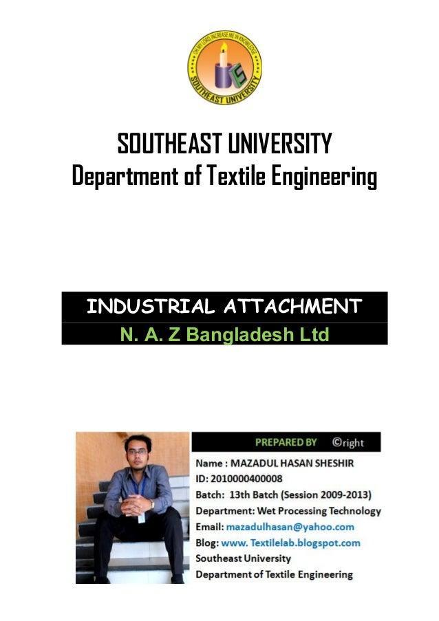 Industrial attachment of  naz bangladesh  ltd
