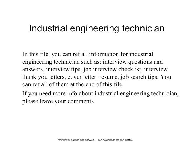 What is the difference between Industrial Engineering and Industrial Engineering Technology?