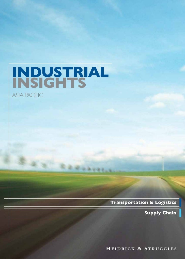 Industrial Insights   Transportation & Logistics And Supply Chain