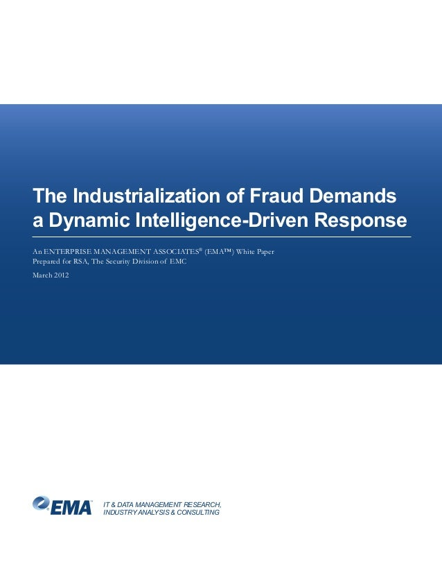 Analyst Report: EMA - The Industrialization of Fraud Demands a Dynamic Intelligence-Driven Response