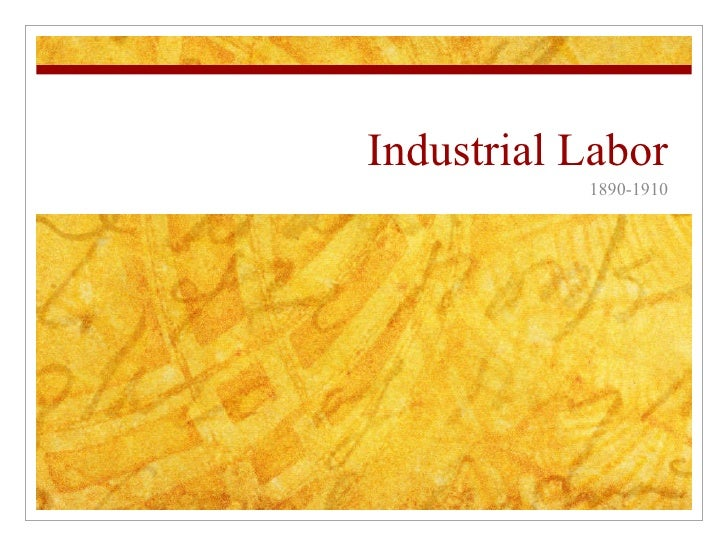 Industrial Labor For Web