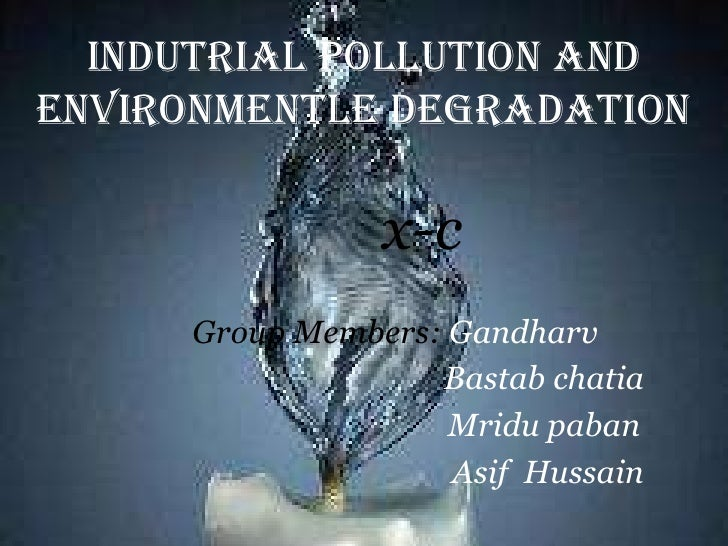 INDUTRIAL POLLUTION
