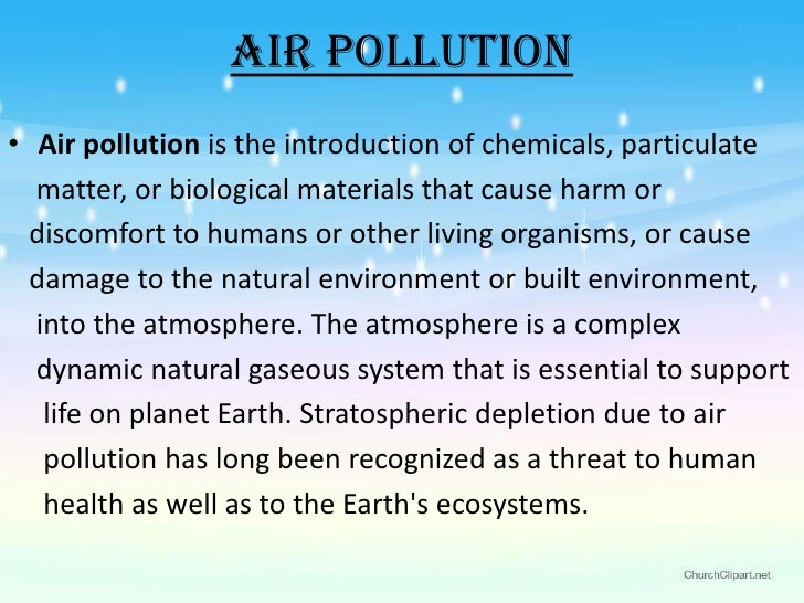 Essay On Pollution