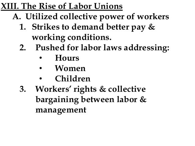 What are some good books on the industrial revolution and labor unions?