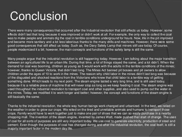 Industrial Revolution Essay Topics
