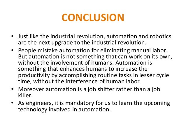 Short paragraph on Industrial Revolution