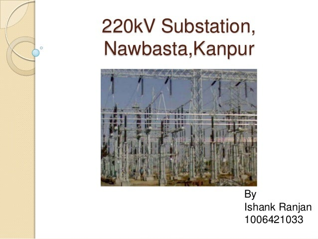 PPt on 220 kV substation