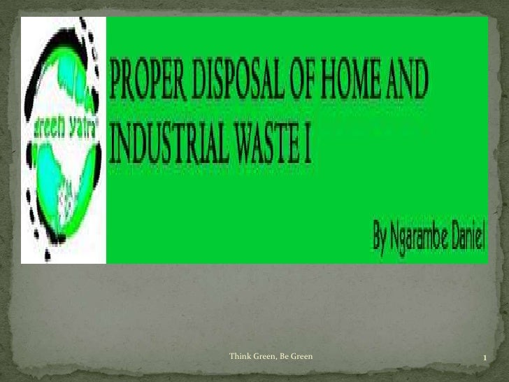 Industrial waste disposal management by Green Yatra