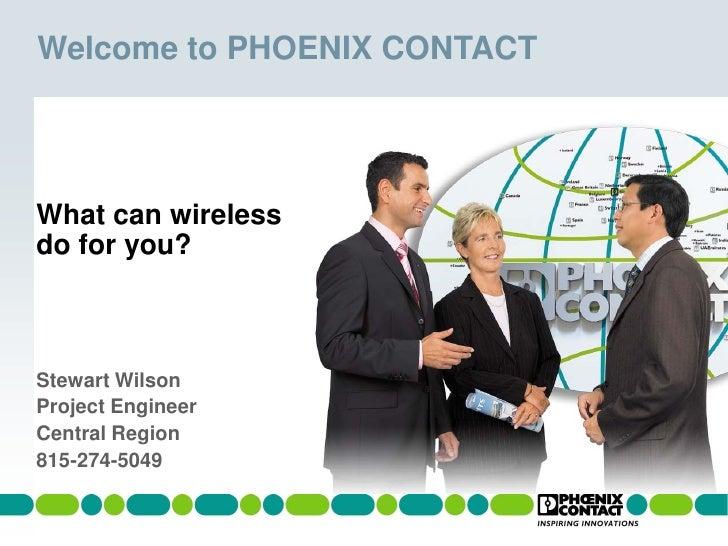 Industrial Wireless Communication