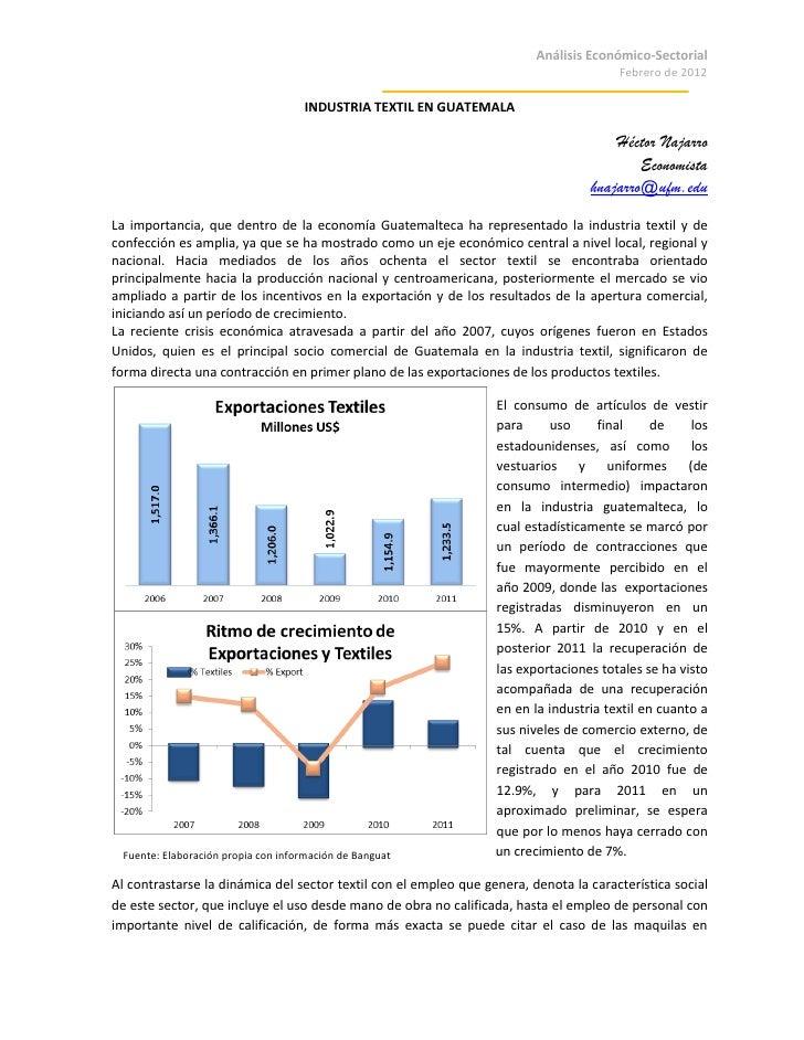 Análisis Económico-Sectorial                                                                                        Febrer...