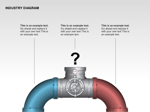 INDUSTRY DIAGRAM This is an example text. Go ahead and replace it with your own text This is an example text. ? This is an...