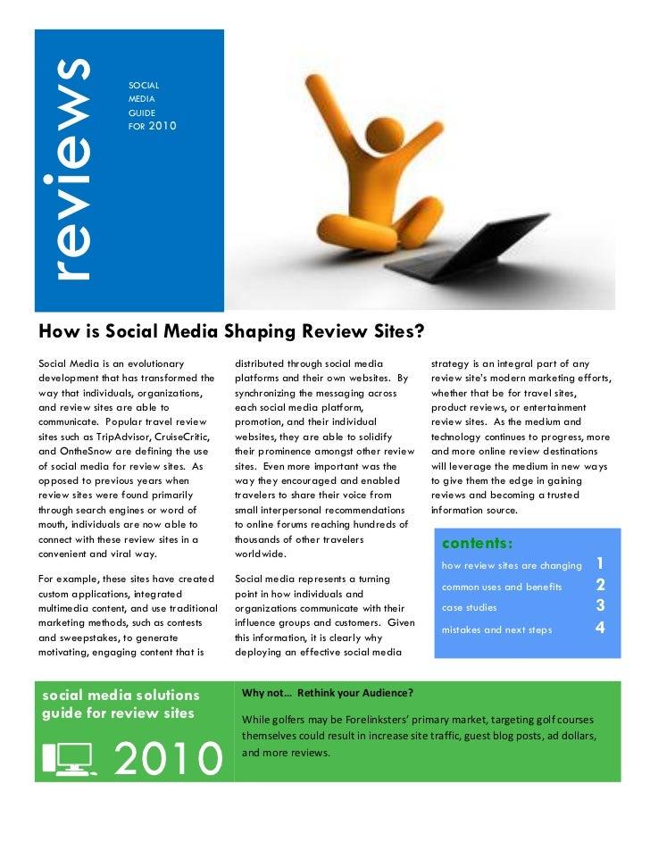 reviews  Kjhkj                     SOCIAL                     MEDIA                     GUIDE                     FOR 2010...