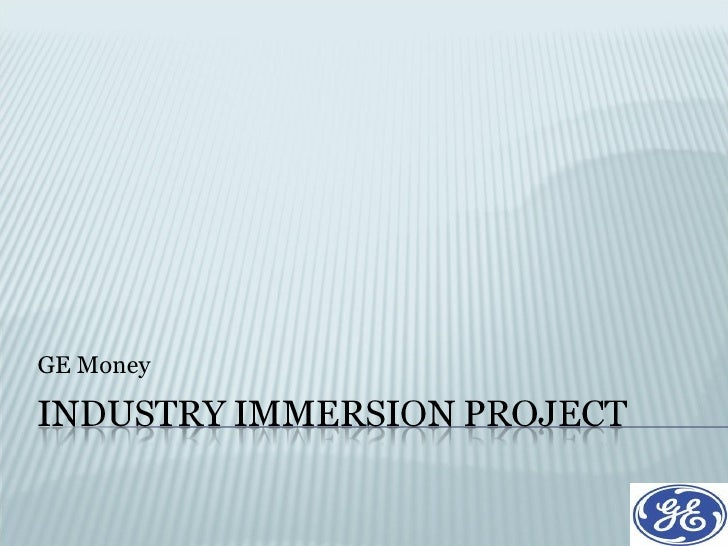 Industry Immersion Project(Internship Project)