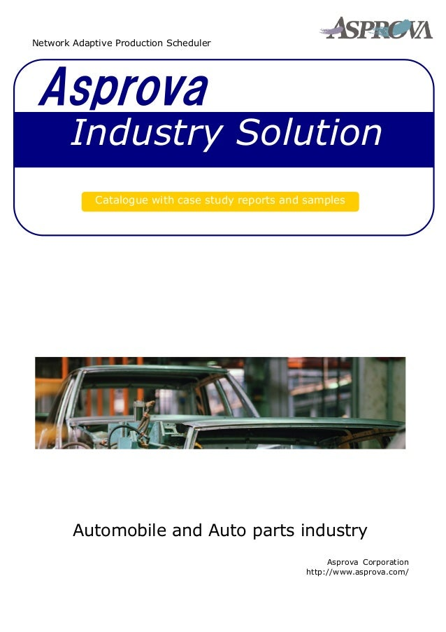 Industry Solution for Automobile Industry