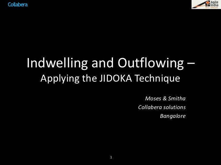 Indwelling and outflowing – applying the jidoka technique