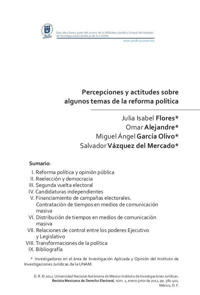 D. R. © 2012. Universidad Nacional Autónoma de México-Instituto de Investigaciones Jurídicas. Revista Mexicana de Derecho ...