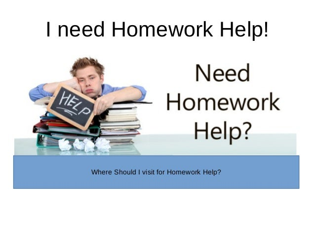 Need help doing my homework