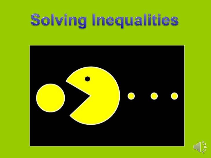 Inequalities 1