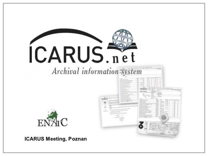 ICARUS Meeting, Poznan