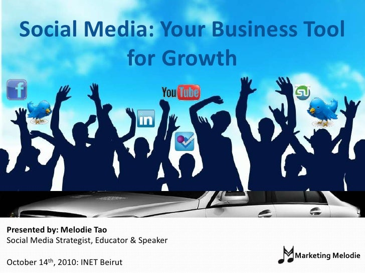 INET Beirut: Social Media- Your Business Tool For Growth