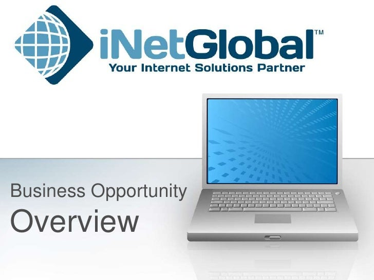 Business Opportunity<br />Overview<br />