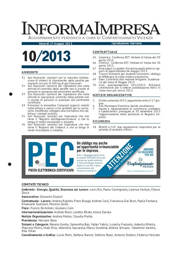 InformaImpresa n. 10/2013