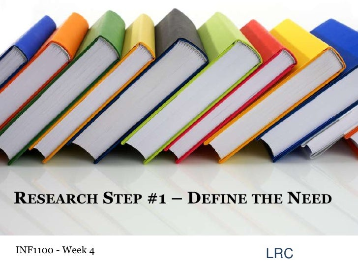 Information Literacy Week 4: Research Questions