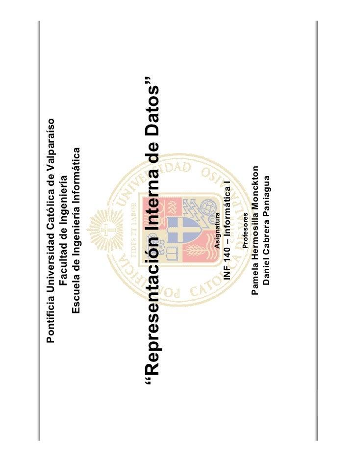 Pontificia Universidad Católica de Valparaíso                              Facultad de Ingeniería                        E...