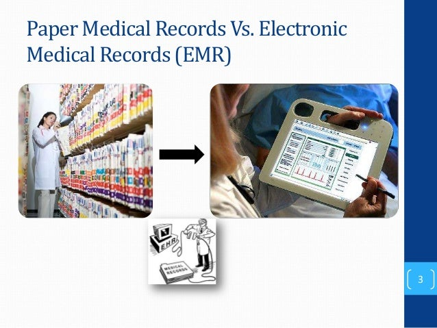 electronic medical records 2 essay Practice facilitation handbook module 17 electronic health records and meaningful use previous page next page with the increasing implementation of electronic health records (ehrs) and the use of disease registries to monitor and track patient populations.