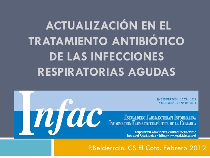 Infac antibioticos 2012